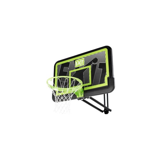 EXIT Galaxy basketbalbord voor muurmontage - black edition
