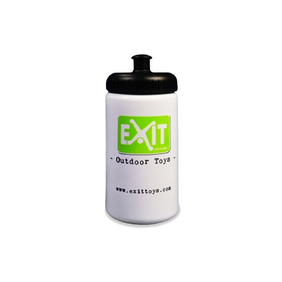 EXIT bidon 500ml - wit
